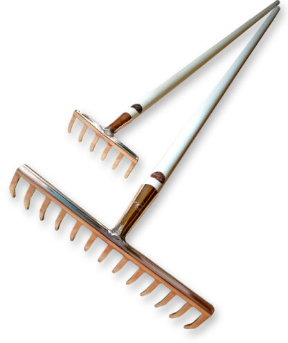 PKS Copper Rake small and large